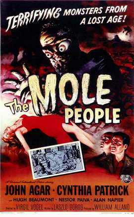 The Mole People - 11 x 17 Movie Poster - Style A