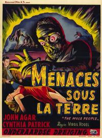 The Mole People - 11 x 14 Poster - Foreign - Style A