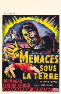 The Mole People - 11 x 17 Movie Poster - Belgian Style A