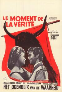 The Moment of Truth - 11 x 17 Movie Poster - Belgian Style A