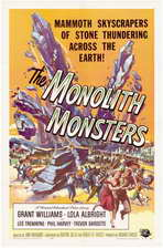 The Monolith Monsters - 11 x 17 Movie Poster - Style A