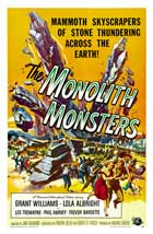 The Monolith Monsters - 27 x 40 Movie Poster - Style B