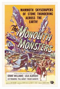 The Monolith Monsters - 27 x 40 Movie Poster - Style A