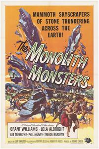 The Monolith Monsters - 43 x 62 Movie Poster - Bus Shelter Style A
