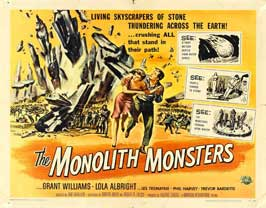 The Monolith Monsters - 30 x 40 Movie Poster UK - Style A