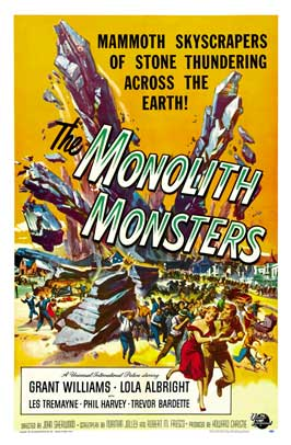The Monolith Monsters - 43 x 62 Movie Poster - Bus Shelter Style B