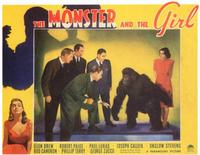 The Monster and the Girl - 11 x 14 Movie Poster - Style A