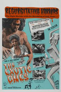 The Monster and the Stripper - 27 x 40 Movie Poster - Style A