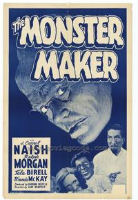 The Monster Maker - 27 x 40 Movie Poster - Style A