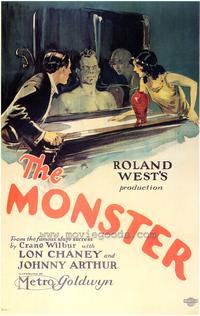 The Monster - 43 x 62 Movie Poster - Bus Shelter Style A