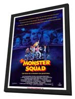 The Monster Squad - 27 x 40 Movie Poster - Style A - in Deluxe Wood Frame