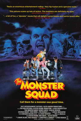 The Monster Squad - 27 x 40 Movie Poster - Style A