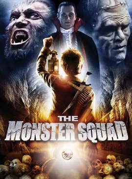 The Monster Squad - 11 x 17 Movie Poster - Style B