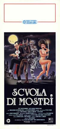 The Monster Squad - 13 x 28 Movie Poster - Italian Style A