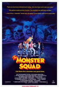 The Monster Squad - 11 x 17 Movie Poster - Style A - Museum Wrapped Canvas