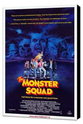 The Monster Squad - 27 x 40 Movie Poster - Style A - Museum Wrapped Canvas