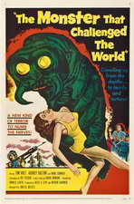 The Monster That Challenged the World - 27 x 40 Movie Poster - Style B