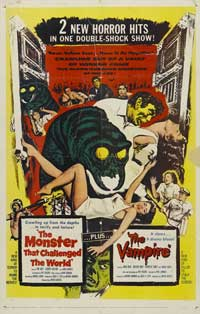 The Monster That Challenged the World - 11 x 17 Movie Poster - Style A