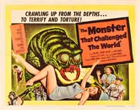 The Monster That Challenged the World - 22 x 28 Movie Poster - Half Sheet Style A