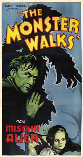 The Monster Walks - 11 x 17 Movie Poster - Style A