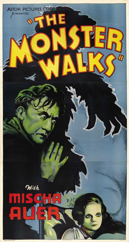 The Monster Walks movie