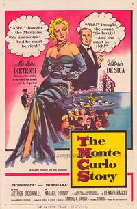 The Monte Carlo Story - 43 x 62 Movie Poster - Bus Shelter Style A