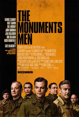 The Monuments Men - DS 1 Sheet Movie Poster - Style A