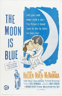 The Moon Is Blue - 43 x 62 Movie Poster - Bus Shelter Style A