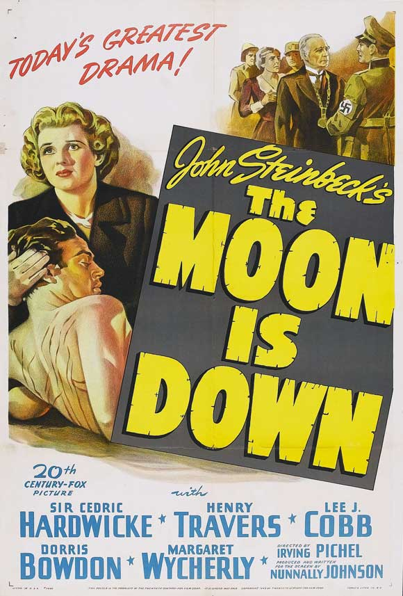 The Moon Is Down Movie Posters From Movie Poster Shop