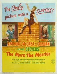 The More the Merrier - 11 x 17 Movie Poster - Style B