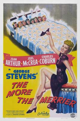 The More the Merrier - 27 x 40 Movie Poster - Style D