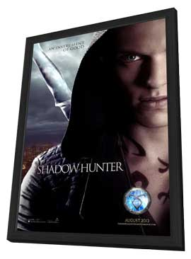 The Mortal Instruments: City of Bones - 27 x 40 Movie Poster - Style A - in Deluxe Wood Frame