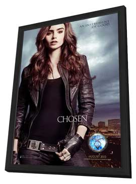 The Mortal Instruments: City of Bones - 11 x 17 Movie Poster - Style C - in Deluxe Wood Frame