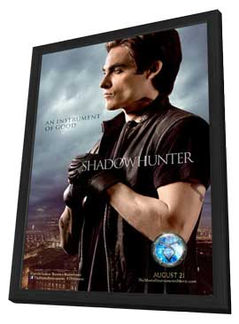 The Mortal Instruments: City of Bones - 27 x 40 Movie Poster - Style D - in Deluxe Wood Frame
