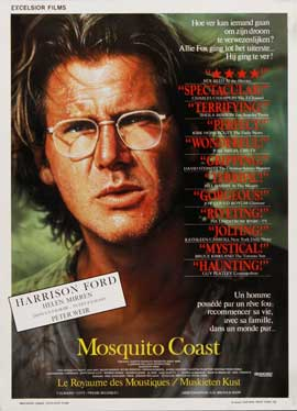 The Mosquito Coast - 27 x 40 Movie Poster - Belgian Style A