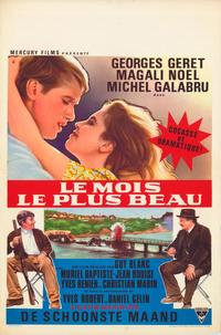 The Most Beautiful Month - 11 x 17 Movie Poster - Belgian Style A