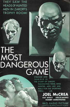 The Most Dangerous Game - 11 x 17 Movie Poster - Style B