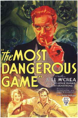The Most Dangerous Game - 11 x 17 Movie Poster - Style C
