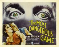The Most Dangerous Game - 22 x 28 Movie Poster - Half Sheet Style B