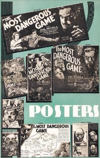 The Most Dangerous Game - 27 x 40 Movie Poster - Style C