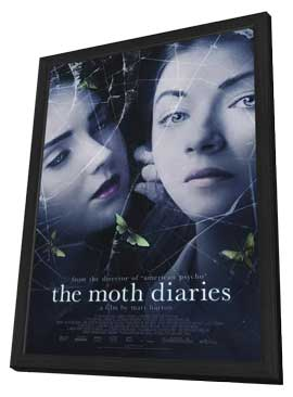 The Moth Diaries - 11 x 17 Movie Poster - Style A - in Deluxe Wood Frame
