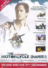 The Motorcycle Diaries - 11 x 17 Movie Poster - UK Style A