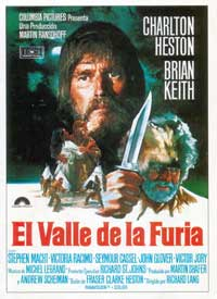 The Mountain Men - 27 x 40 Movie Poster - Spanish Style A