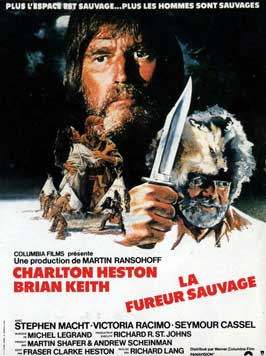 The Mountain Men - 11 x 17 Movie Poster - French Style A