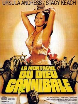 The Mountain of the Cannibal God - 11 x 17 Movie Poster - French Style A
