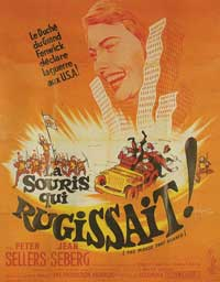 The Mouse That Roared - 11 x 17 Movie Poster - French Style A