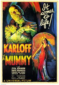 The Mummy - 43 x 62 Movie Poster - Bus Shelter Style B