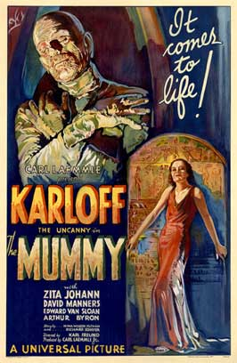 The Mummy - 27 x 40 Movie Poster - Style D