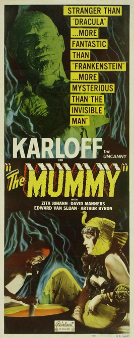 The Mummy - 14 x 36 Movie Poster - Insert Style A