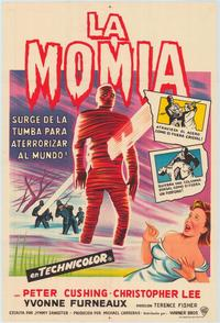 The Mummy - 11 x 17 Movie Poster - Spanish Style B